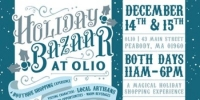 Olio Holiday Bazaar