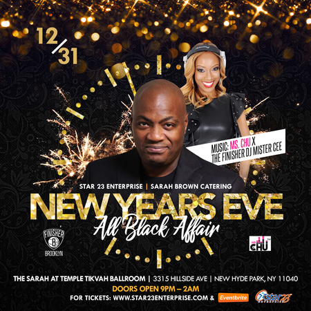 NEW YEARS EVE ALL BLACK AFFAIR, New Hyde Park, New York, United States