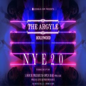 The Argyle New Years Eve 2020 Party, Los Angeles, California, United States