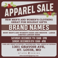 Holiday Apparel Sale at Stars Design Group