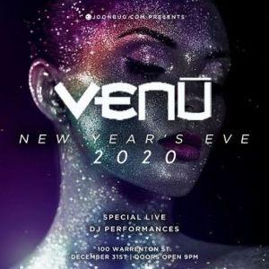 Venu Nightclub New Years Eve 2020 Party, Boston, Massachusetts, United States