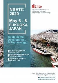 2020 International Conference on Natural Science, Engineering and Technology in Fukuoka