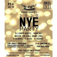 New Year's Eve 2020 Celebration at Raven Lounge