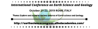 International Conference on Earth Science and Geology