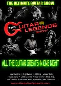The Guitar Legends Show - Live Rock and Blues at Half Moon Putney Weds 18 Dec
