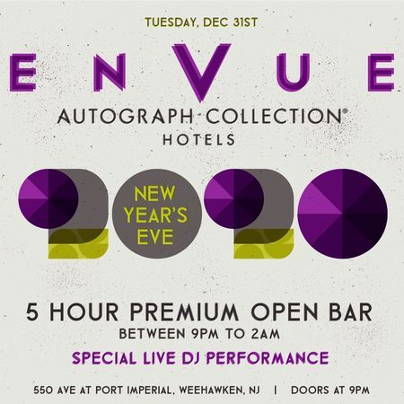 Envue Autograph Collection New Years Eve 2020 Party, Weehawken, New Jersey, United States