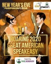 New Year's Eve Secret Speakeasy: Roaring 2020s Great American Speakeasy