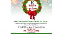 Wreath Making Workshop & Christmas Carnival