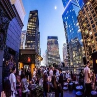 Dream Midtown NYC New Years eve at PhD Terrace, The Rickey, and Fishbowl