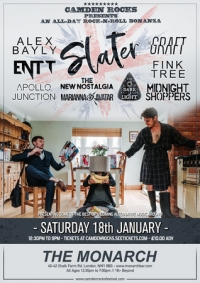 Camden Rocks All-Dayer w/ Slater and more at The Monarch