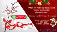 Christmas Event on Website Design and Mobile Application Development in Toronto