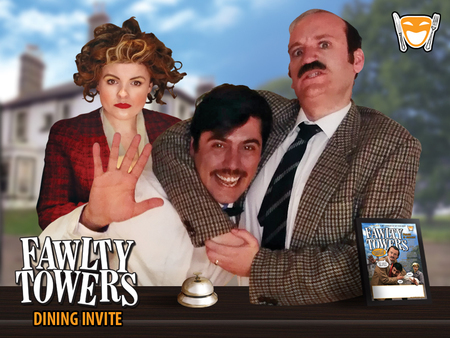 Fawlty Towers Comedy Dinner Show Essex 08/02/2020, Thaxted, England, United Kingdom