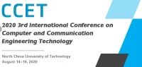 2020 3rd International Conference on Computer and Communication Engineering Technology (CCET 2020)