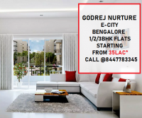 Starting Price 35 Lacs* - Godrej Nurture E City In Bangalore