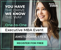 Exclusive Executive MBA Event in Amsterdam in February!