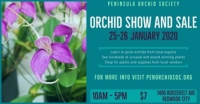 Peninsula Orchid Society Show and Sale