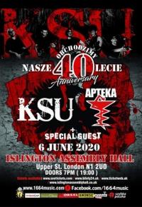 KSU plus Apteka and SickBoy at Islington Assembly Hall, London