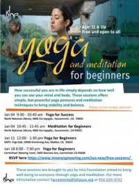 YOGA FOR SUCCESS (70 min session) - FREE and Open to All