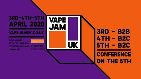 Vape Jam UK 2020 - ExCel London - 3rd To 5th April 2020, Greater London, England, United Kingdom