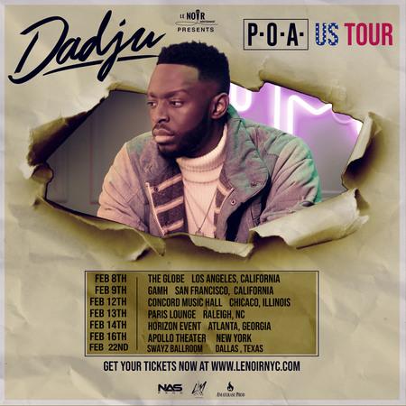 P.O.A DADJU US TOUR, Los Angeles, California, United States