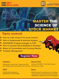 """MASTER THE SCIENCE OF STOCK MARKET"""" an exclusive workshop on trading in Hyderabad"""