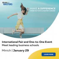 Meet top international Masters programmes in Munich on January 29th