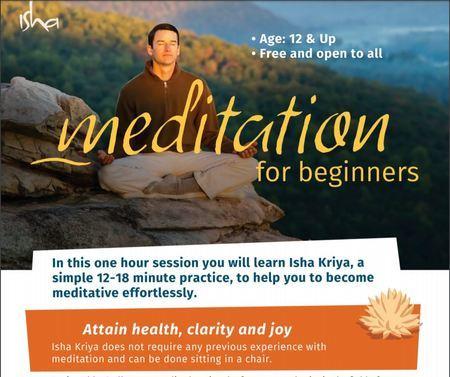 Isha Kriya Meditation, Sacramento, California, United States