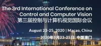 2020 The 3rd International Conference on Control and Computer Vision (ICCCV 2020)