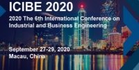 2020 The 6th International Conference on Industrial and Business Engineering (ICIBE 2020)