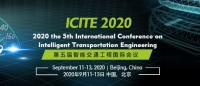2020 IEEE 5th International Conference on Intelligent Transportation Engineering (ICITE 2020)