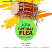 Lohri Special Flea in Gurgaon - BookMyStall