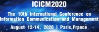 2020 10th International Conference on Information Communication and Management (ICICM 2020)