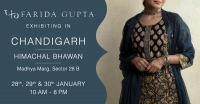 Farida Gupta Chandigarh Exhibition