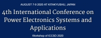 2020 The 4th International Conference on Power Electronics Systems and Applications (ICPESA 2020)