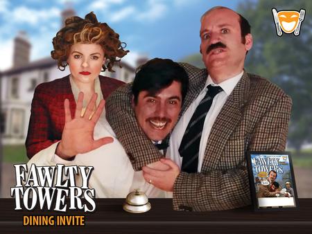 Fawlty Towers Comedy Dinner Show Huntington 13/03/2020, Huntingdon, England, United Kingdom