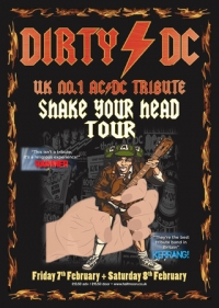 Dirty DC: ACDC Tribute Band Live at Half Moon Putney London Friday 7 Feb
