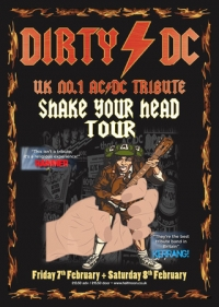 Dirty DC: ACDC Tribute Band Live at Half Moon Putney London Saturday 8 Feb