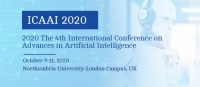 2020 The 4th International Conference on Advances in Artificial Intelligence (ICAAI 2020)