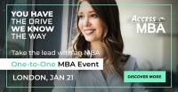Access MBA is coming to London!