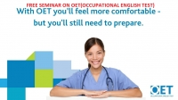 Free Seminar on OET Preparation-OET for Doctors and OET for Nurses