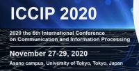 2020 6th International Conference on Communication and Information Processing (ICCIP 2020)