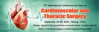 27th International Conference & Exhibition on Cardiovascular and Thoracic Surgery