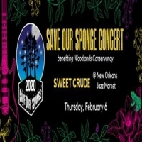 Save Our Sponge Concert featuring Sweet Crude - Feb. 6 @Jazz Market