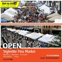 Styleelite Flea Market at Pune - BookMyStall