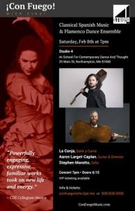 ¡Con Fuego! - Spanish Music and Flamenco Dance Ensemble Northampton