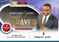 Businessmen and Women Breakfast Prayer Session