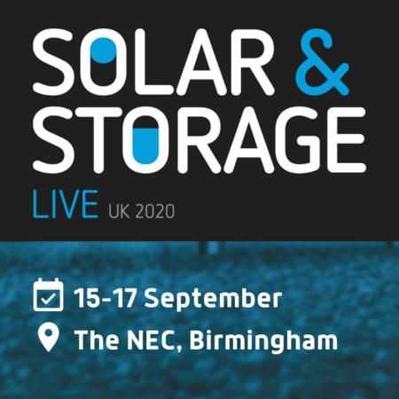 Solar & Storage Live 2020, Birmingham, United Kingdom