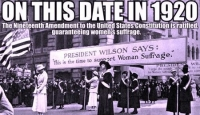 Celebrating the Centennial of the Women's Suffrage Movement Kick-Off Event