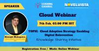 FREE Webinar on Cloud Adoption Strategy by NovelVista
