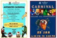 Avengers Carnival at Boarding School in Pune